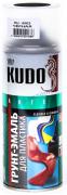 Грунт-эмаль для пластика акрил [Черный, аэрозоль] 520 мл Kudo (KU-6002)