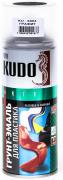 Грунт-эмаль для пластика акрил [Графит, аэрозоль] 520 мл Kudo (KU-6004)