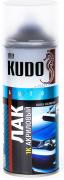 Лак для кузова акрил [Прозрачный, металлик, аэрозоль] 520 мл Kudo (KU-9010)