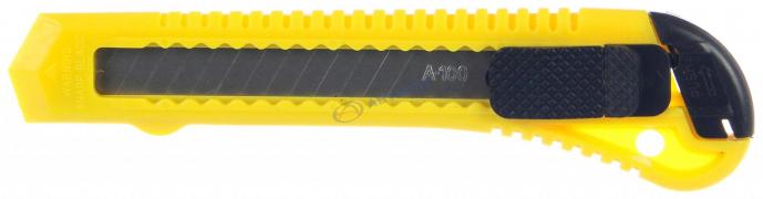 "Нож пистолетный, с квадрат. фиксатором лезвия, ширина лезвия 18мм (685-017) ""FALCO"""
