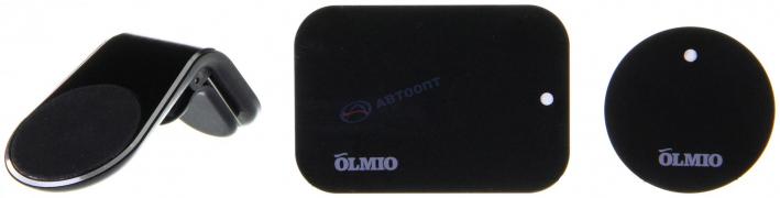 Держатель автомобильный для смартфонов Magnet Clip,  OLMIO 039493
