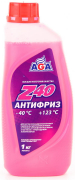 Антифриз AGA Z40 AGA001Z (красный) G12 1кг