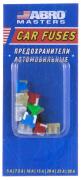 """Предохранитель вилочный (флажковый) 10шт, на листе, МИНИ №9 (7,5-30 А) (FUAI3709AS) """"ABRO"""""""