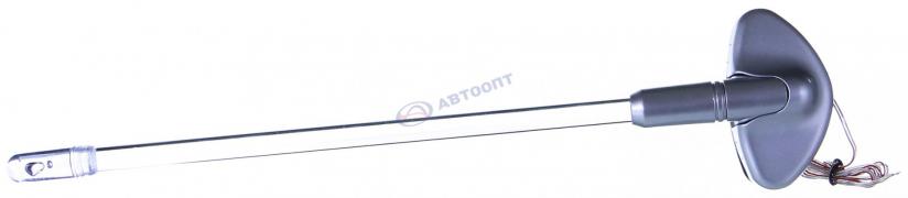 Антенна габаритная с подсветкой (серая)