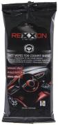 Автосалфетки для салона с глянцевым эффектом 25 шт REXXON