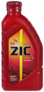 Масло трансмиссионное ZIC ATF 3 полусинтетическое 1л