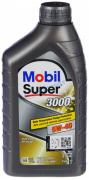 Масло моторное Mobil Super 3000 X1 5W40 [SM/CF] синтетическое 1л