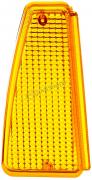Стекло указателей поворотов ВАЗ-2108 желтое правое (35)