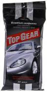 Салфетки влажные для стекол,зеркал Top Gear №30