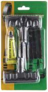 Аптечка для бескамерных шин  8 предметов (2 шила, жгуты, клей)