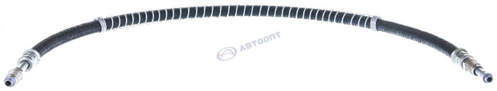 Шланг бензопровода Газель дв. 405 с пружиной нагнетателя 830 мм 2 штуцера (2752-1104188) (г.Балаково)